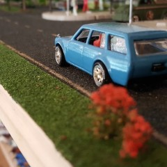 Custom Datsun 510 Wagon with Bucket Seats