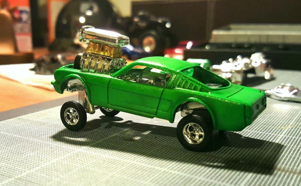 Gasser Stang - testing wheels