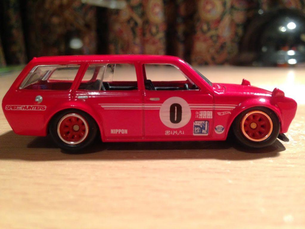 custom datsun wagon - stanced 6