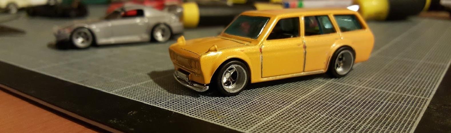 Stanced Datsun 510 Wagon