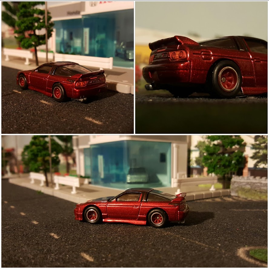 Hotwheels nissan 180sx type x diecast cars