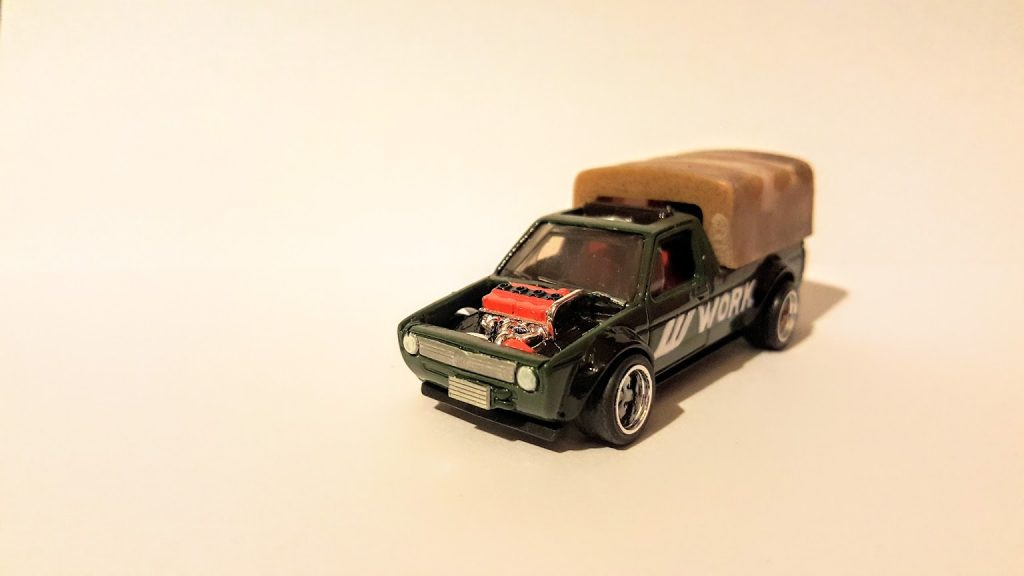 shows the Designer Challenge version of the car as well as a mainline version.