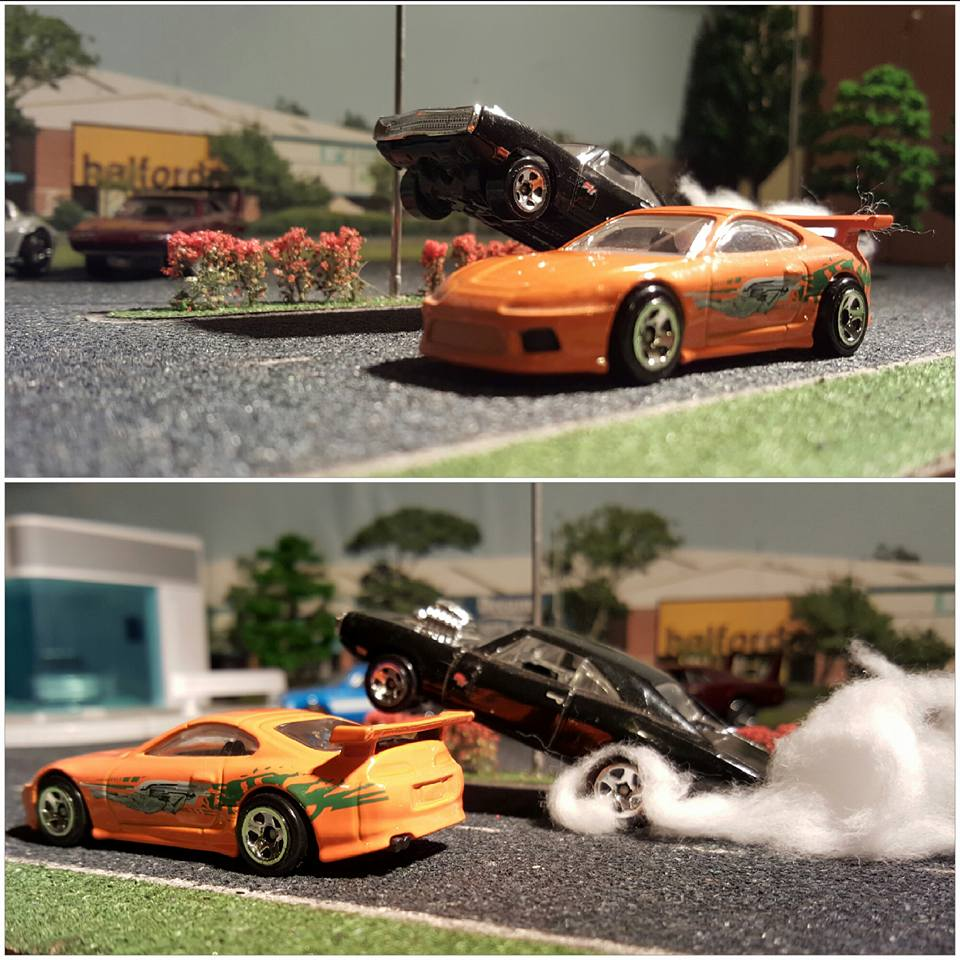 Sofa King Fast Racing: The Fast & The Furious Face Off In 1