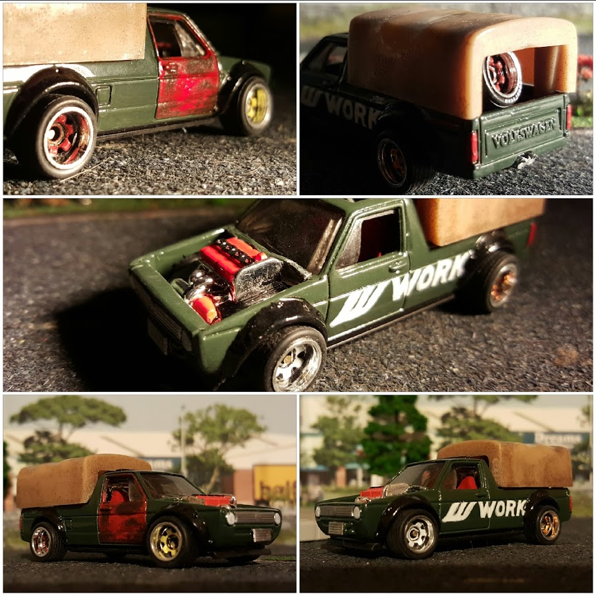 custom diecast volkswagen caddy