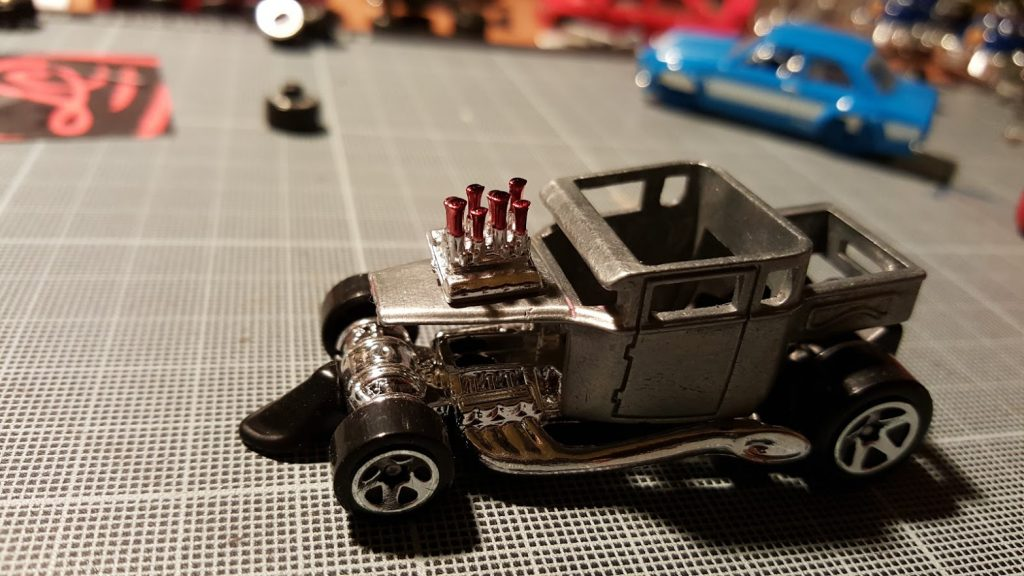 M2 models have wonderfully detailed engine parts
