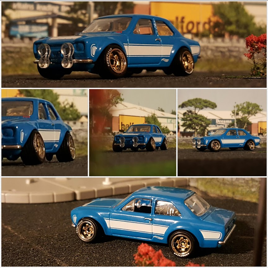 paul walker ford escort diecast cars tribute