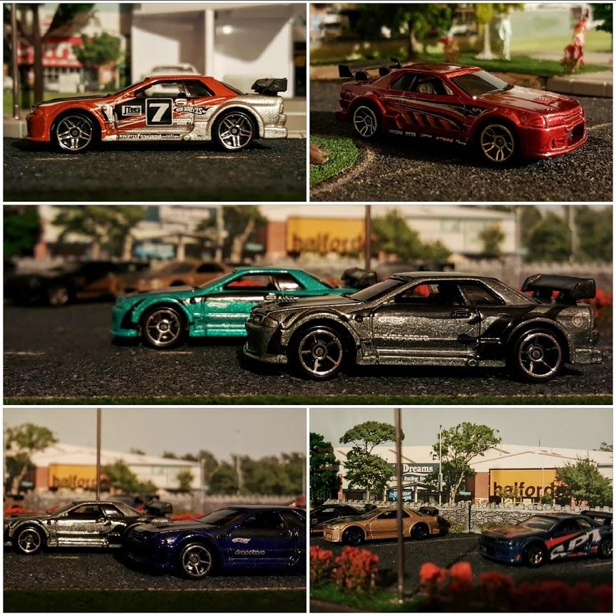 nissan skyline gtr32 hotwheels diecast cars