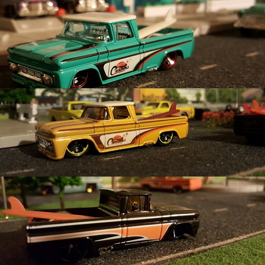 custom chevy hotwheels diecast cars