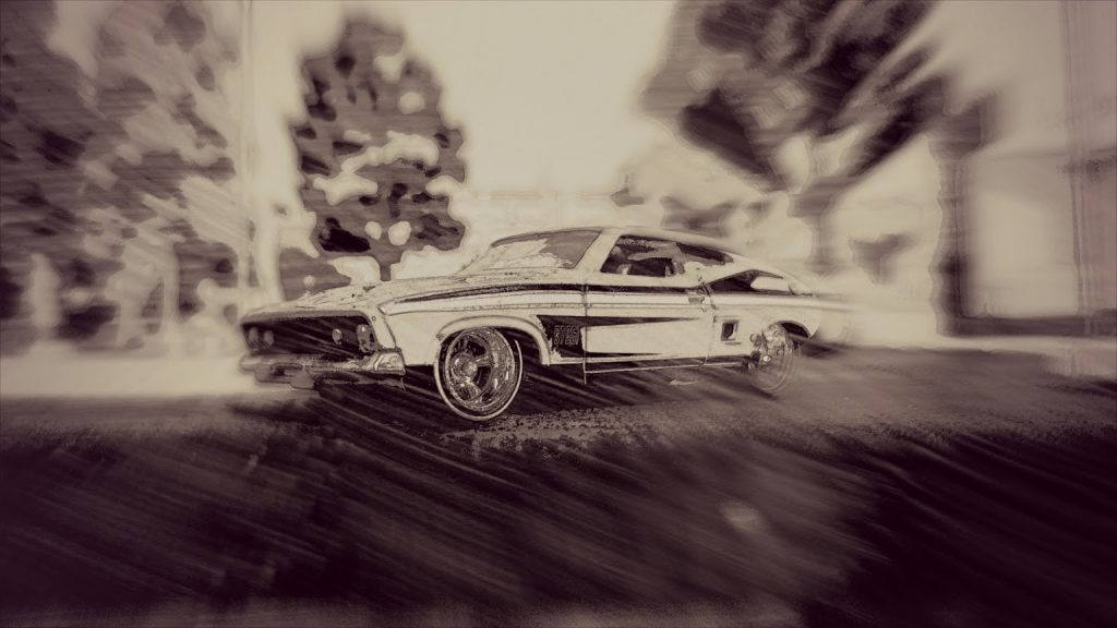 diecast cars and photo filters