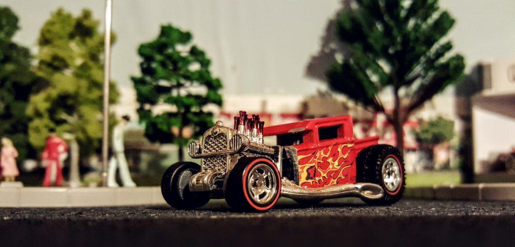 custom hotwheels boneshaker diecast hotrod