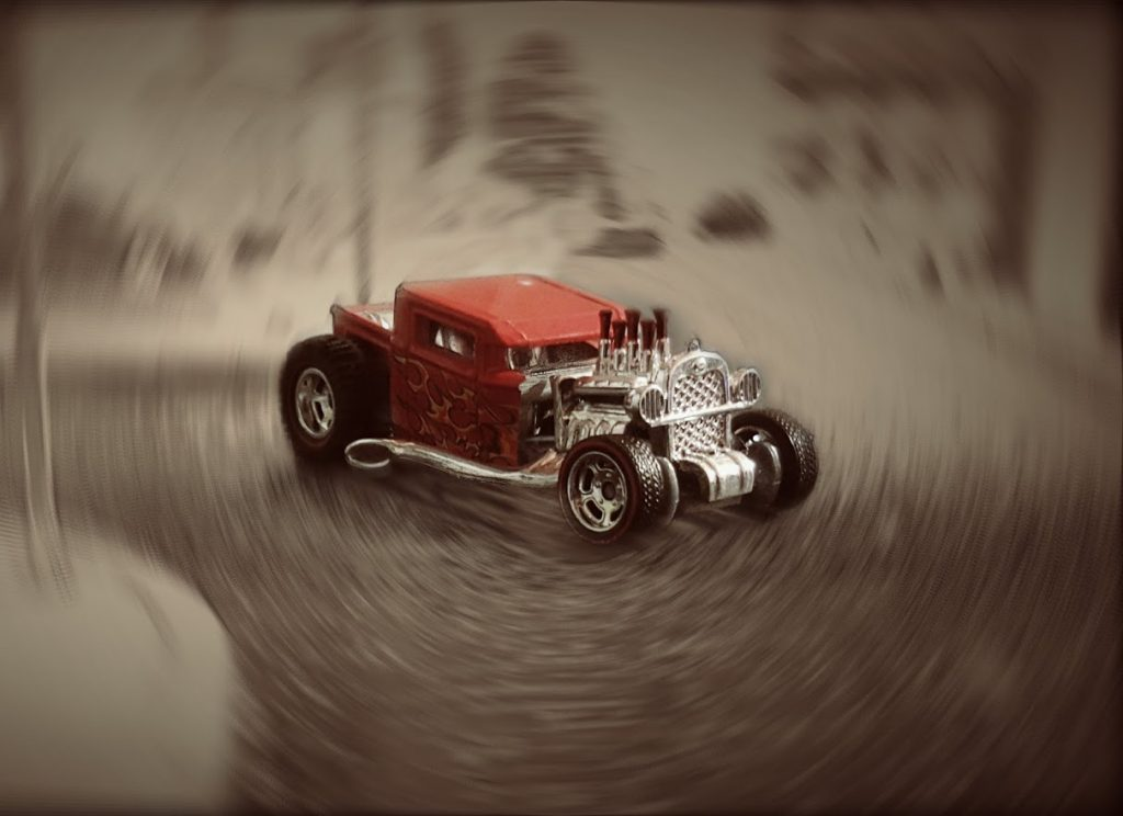 custom hotwheels boneshaker diecast car