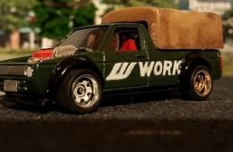 Custom Work Wheels Delivery Caddy
