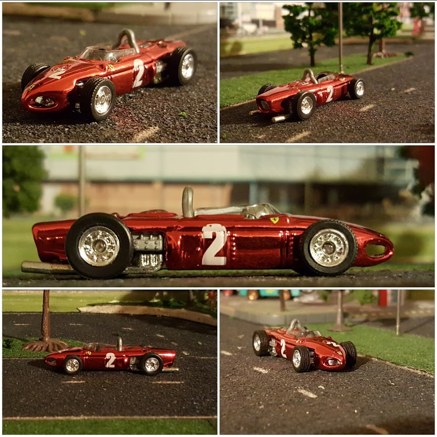 ferrari Formula one diecast cars in 1/64 scale