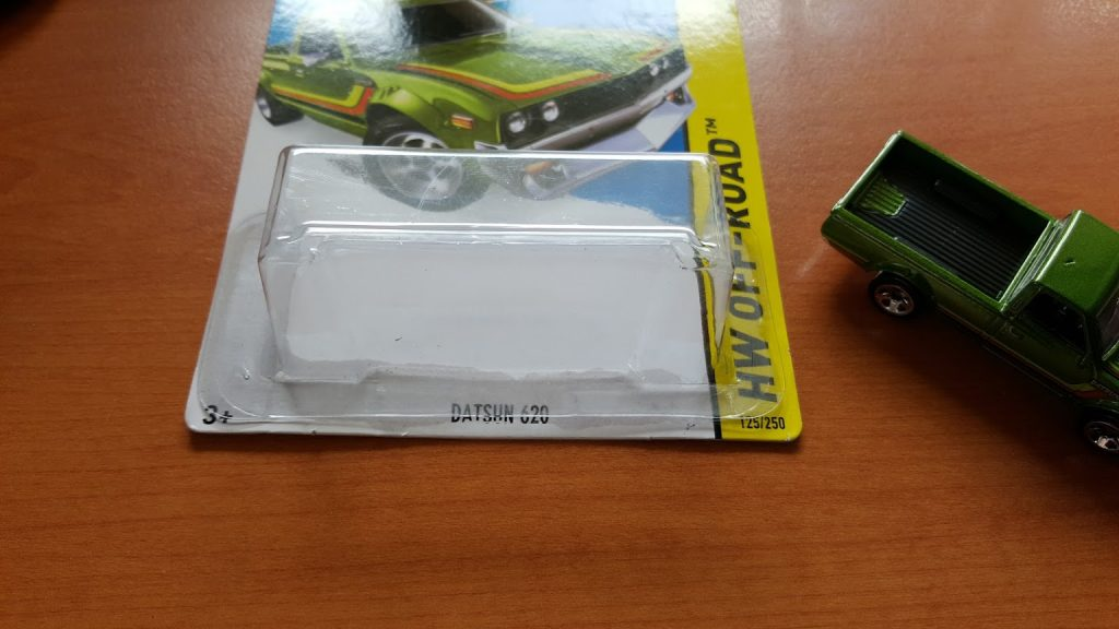 how to remove hotwheels from card and blister