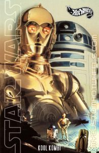 custom hotwheels card c3po star wars art