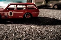 Datsun'icely Slammed Wagon