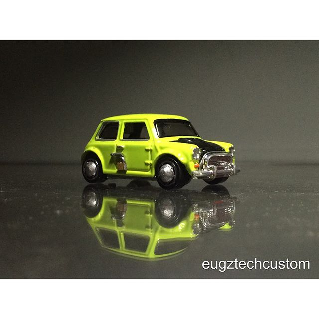 mr bean mini diecast car