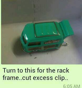 how to make roof racks for hot wheels diecast cars