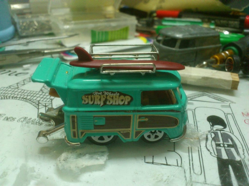 custom roof racks and hot wheels by Syahrul Riduan