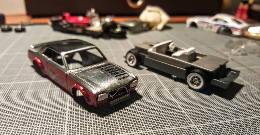 how I made a custom hot wheels nissan skyline