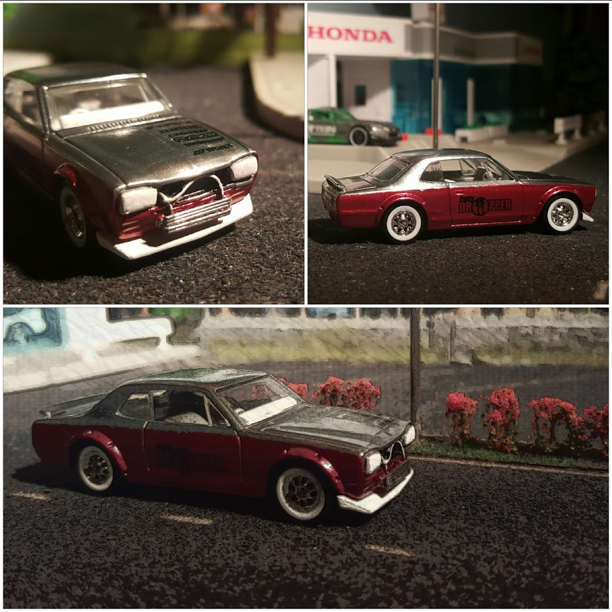 diecast hot wheels nissan skyline hakosuka