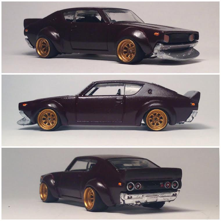 custom hot wheels and diecast cars spotlight Joel