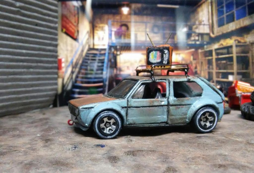 Results - custom Hot wheels Volkswagen Golf Mk 1 2