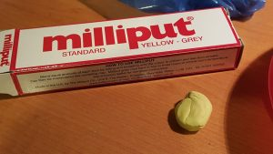 milliput putty is best for hot wheels