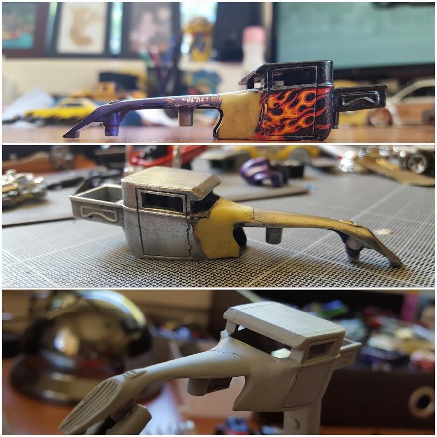 strip and paint the boneshaker custom hot wheels