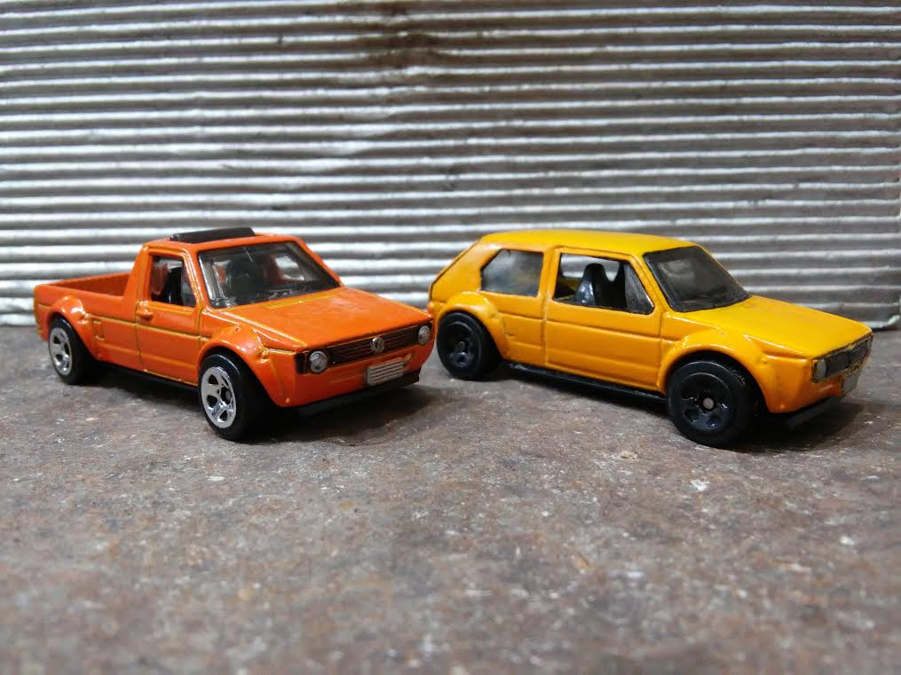 custom hotwheels mk1 vw golf