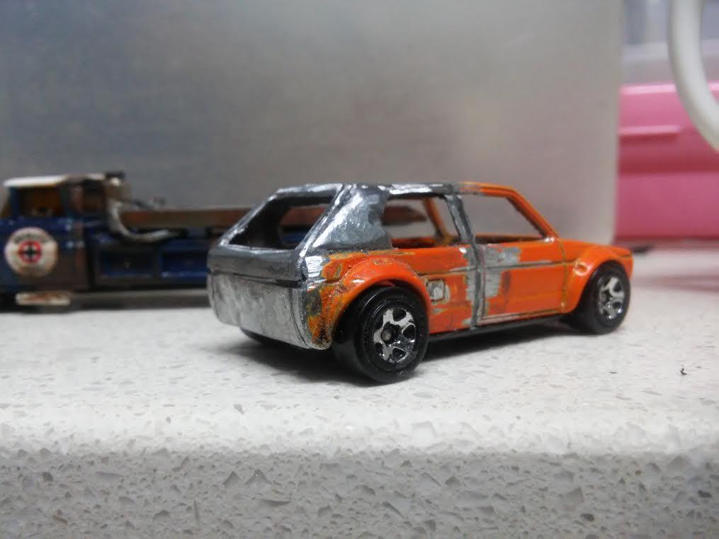 custom hotwheels mk1 vw golf