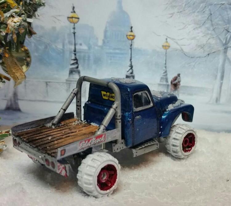 Sharon Tarshish - chevy snow truck 2