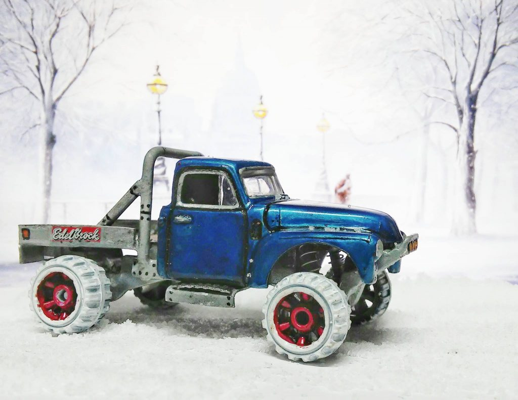 Sharon Tarshish - chevy snow truck 3