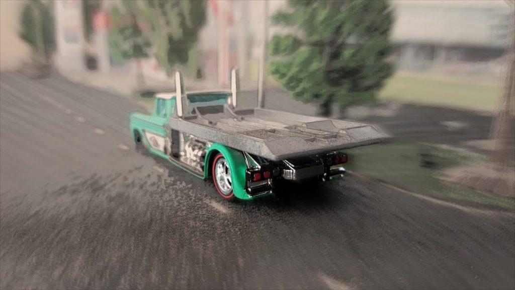 chevy hauler pastel blur filter