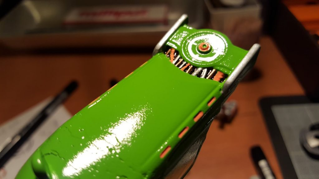 how to paint and detail hot wheels diecast cars