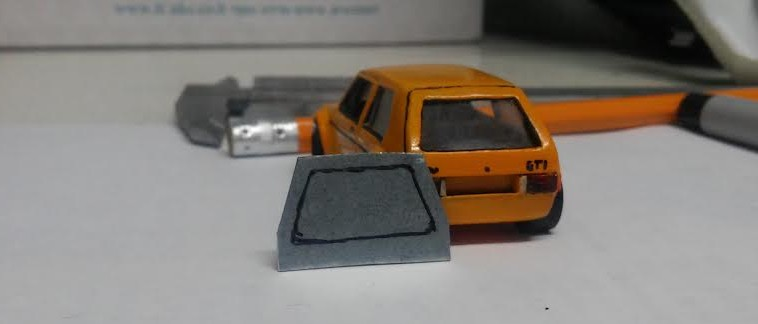 how to make a custom hotwheels VW Golf Mk1 10