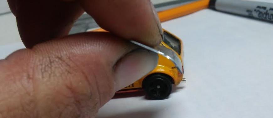 how to make a custom hotwheels VW Golf Mk1 12