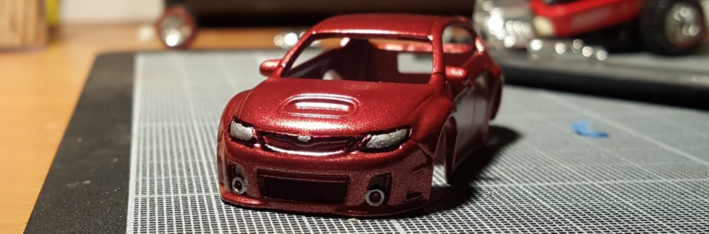 how to paint and detail headlights