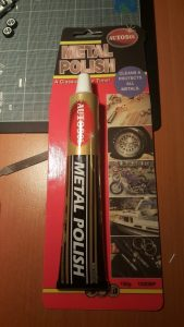 how to polish hotwheels autosol