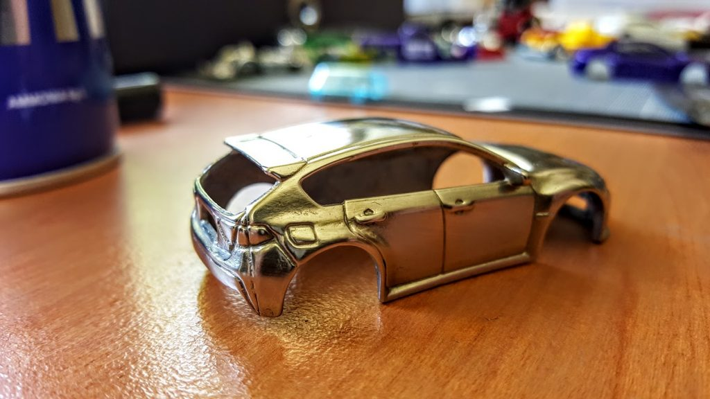 how to polish hotwheels final result 2