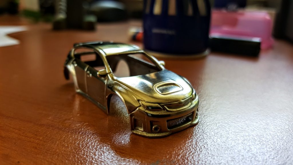 how to polish hotwheels final result 3