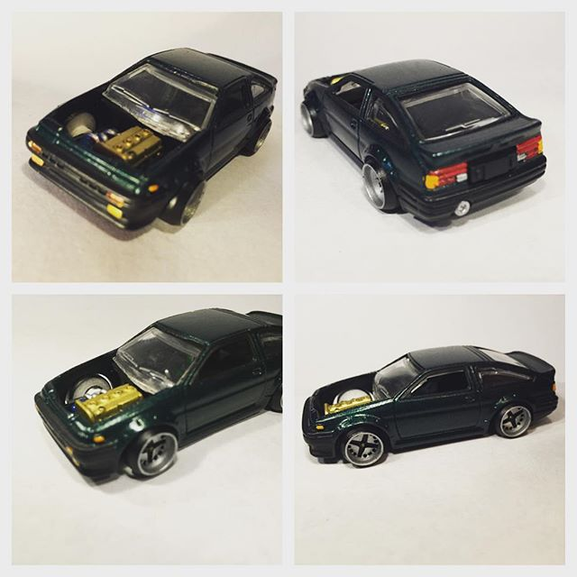 your custom hot wheels and diecast cars