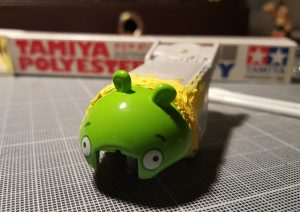 creating the angry birds minion pig drag bus