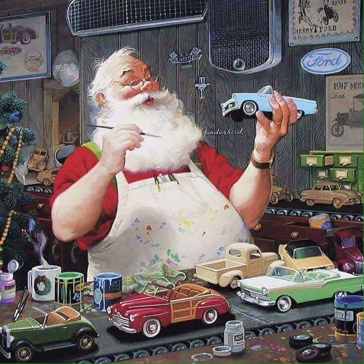 merry christmas from my custom hot wheels and diecast cars