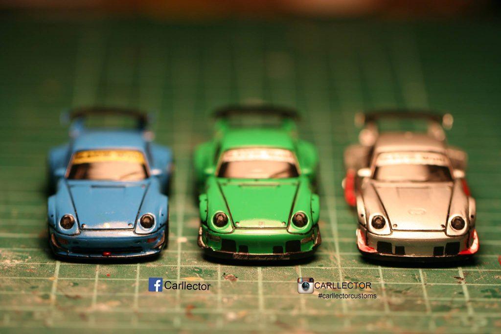 Carllector - Porsche Rauh Welt set of 3