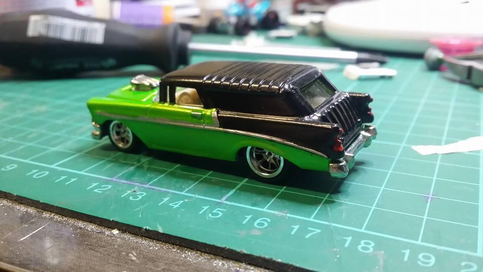 Garry Mel Miller - 56 Chevy Nomad 2