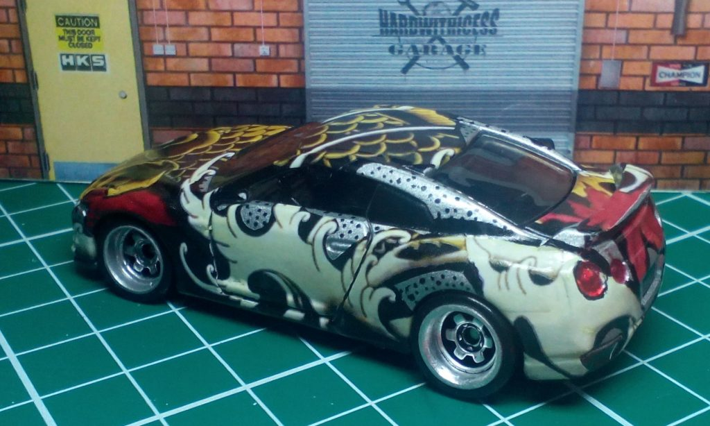 Hardwithicess Meltinice GTR35 handpainted KOI 1