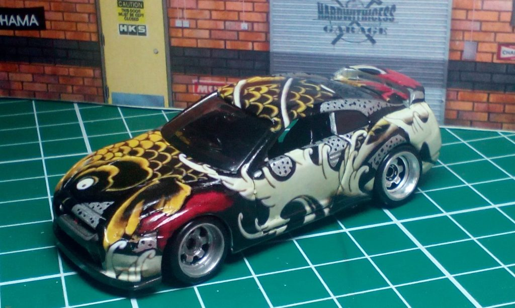 Hardwithicess Meltinice GTR35 handpainted KOI 2