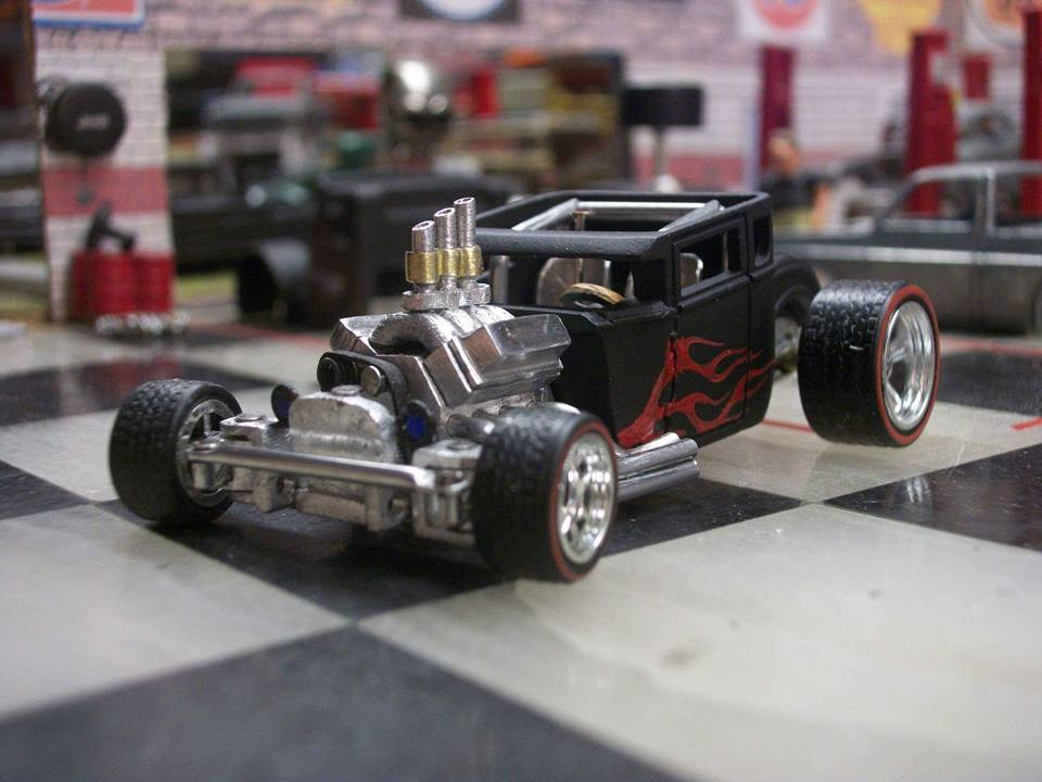 Jimi Hotwheels boneshaker with working steering 5