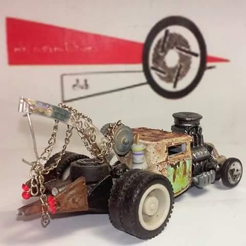 Juan Daniel Villanueva Ortega - rat rod tow truck